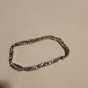 Elegant rhinestone bracelet NWOT